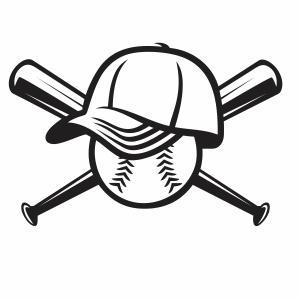 Baseball Logo vector file