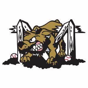 Vector Batavia Muckdogs Logo