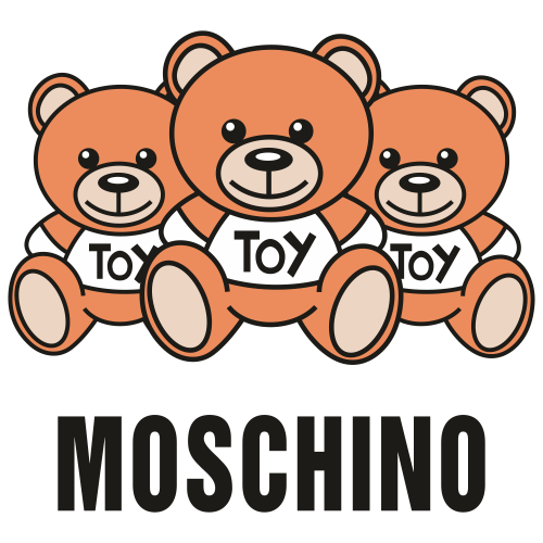Moschino Bear Svg
