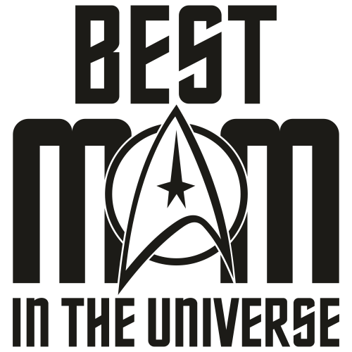 Best Mom In The Universe SVG