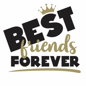 Best Friends Forever Vector Download Friends Forever Vector Image Svg Psd Png Eps Ai Format Friends Forever Vector Graphic Arts Downloads