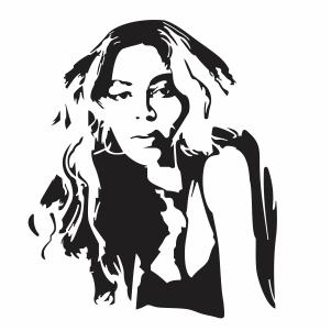 Beyonce Girl Vector