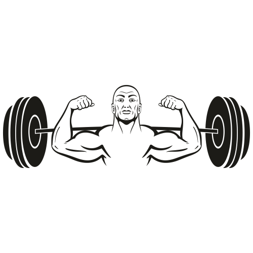 Biceps Muscle Dumbbell Svg