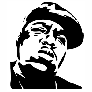 Biggie Big Rapper Vector