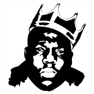 Biggie Crown Vector