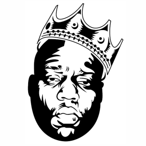 King Biggie Big Vector
