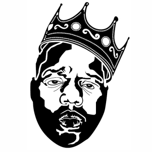 Notorious Big Crown Vector