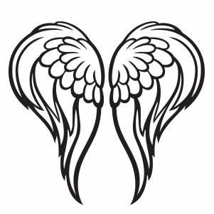 Angel Bird Wings Vector