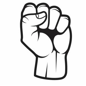 Black Lives Matter Fist Svg