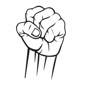 Raised Fist Vector