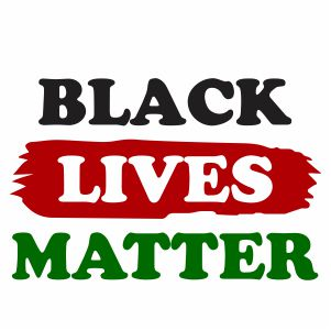 Black Lives Matter Logo Svg
