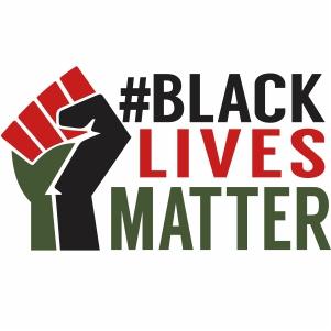 Black Lives Matter hand Sign svg