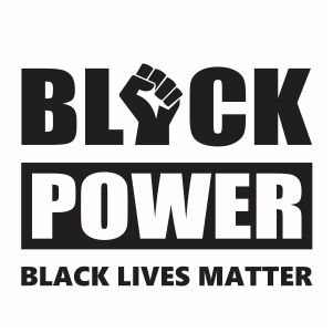 Black Power Vector