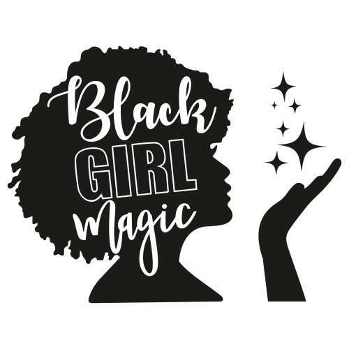 Black Girl Magic SVG