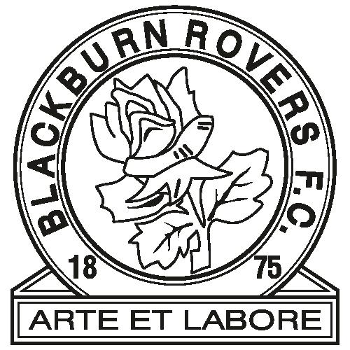 Blackburn Rovers FC Black Svg