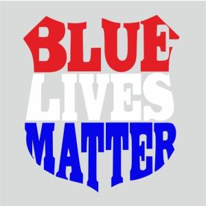 Blue Lives Matter Svg