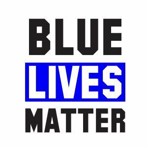 Blue Lives Matter Clipart