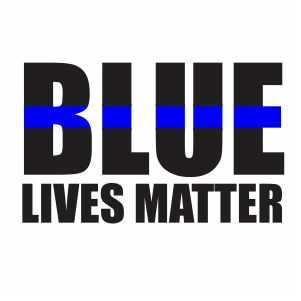 Blue Lives Matter Svg