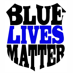 Blue Lives Matter svg cut file