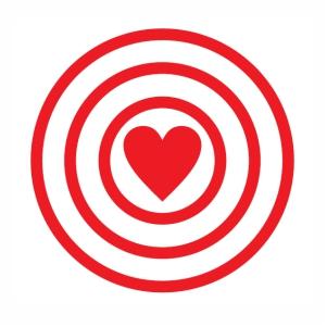 Target Love svg
