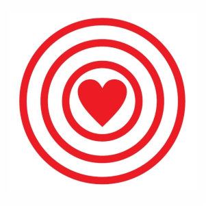Target Love vector file