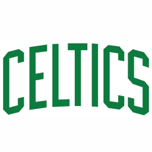 Boston Celtics Jersey Logo vector file