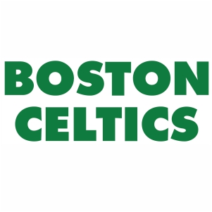 Boston Celtics Wordmark Logo svg