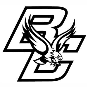Boston College Eagles logo vector image