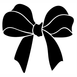 Black Bow SVG file