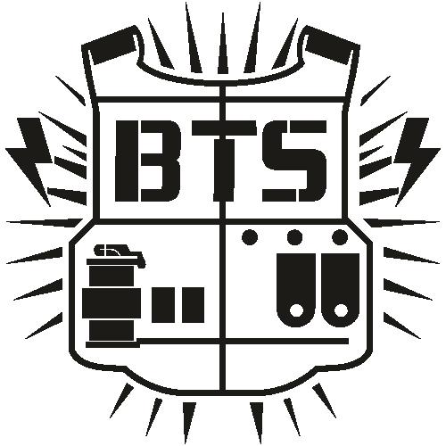 BTS Bangton Boys Logo Svg