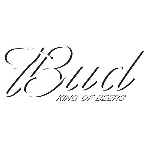 Bud King of Beers Svg