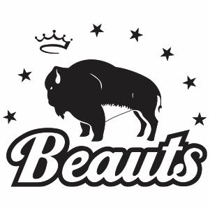 Buffalo Beauts Logo Svg