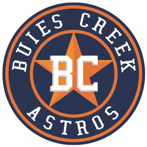 Buies Creek Astros Logo Vector