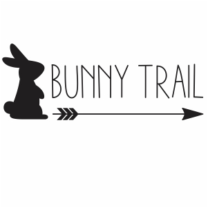 Bunny Trail svg cut