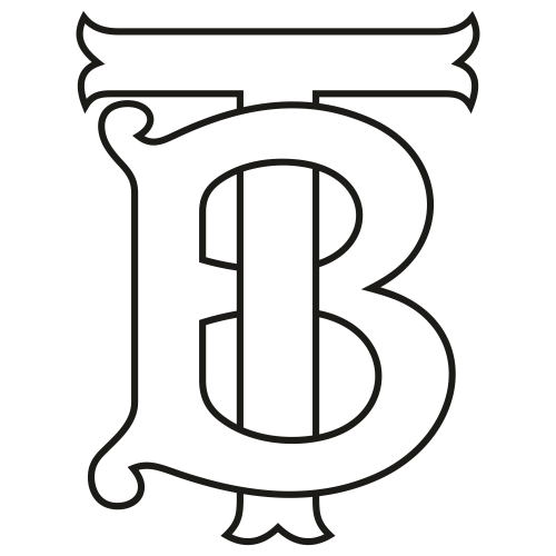 Burberry New Tb Outline Svg