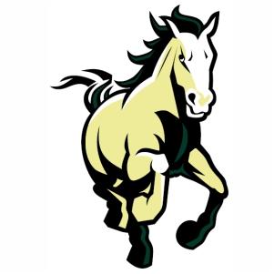 Cal Poly Mustangs vector image