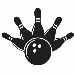 Bowling Game Icon Svg Bowling Pins And Ball Svg Cut File Download Jpg Png Svg Cdr Ai Pdf Eps Dxf Format