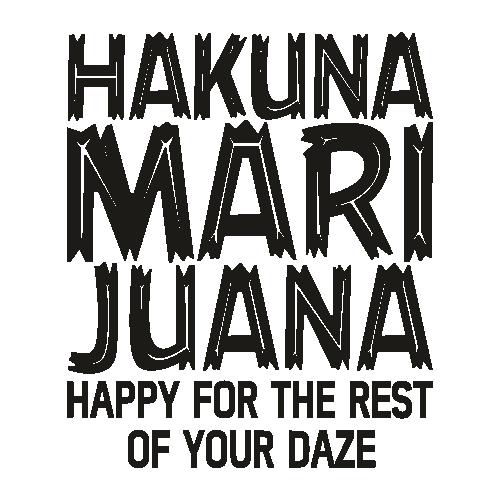 Hakuna Marijuana Svg