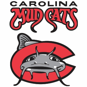 Carolina Mudcats Logos Vector