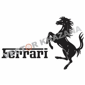 Carrs Ferrari Exeter Logo Vector