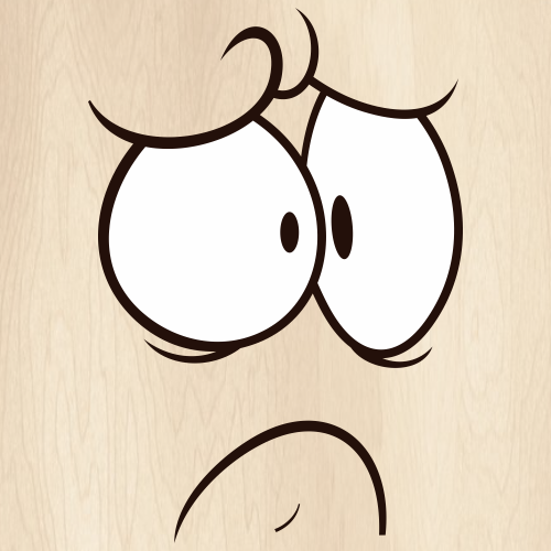Angry Cartoon Face Svg