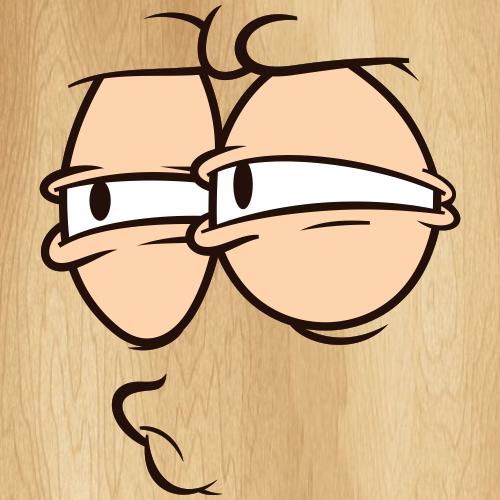 Cartoon Eye Expression Svg