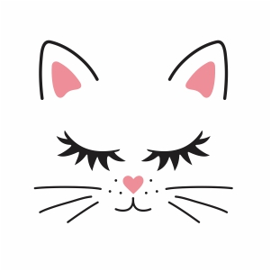 Cat Face Svg