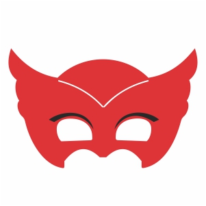 Owlette Mask Vector