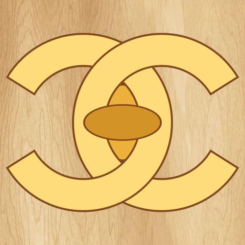 Chanel Yellow Logo Svg