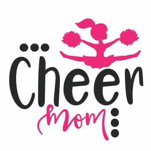Cheer Mom Svg