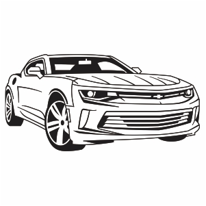 Chevrolet Camaro Car Logo Svg