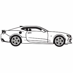 Chevrolet Camaro Car Logo Vector Files