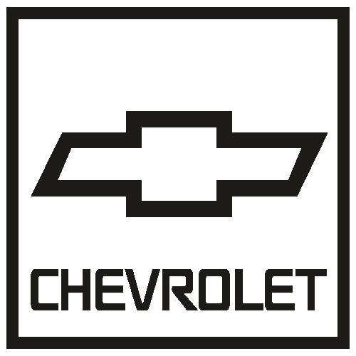 Chevrolet rectangle Logo Svg
