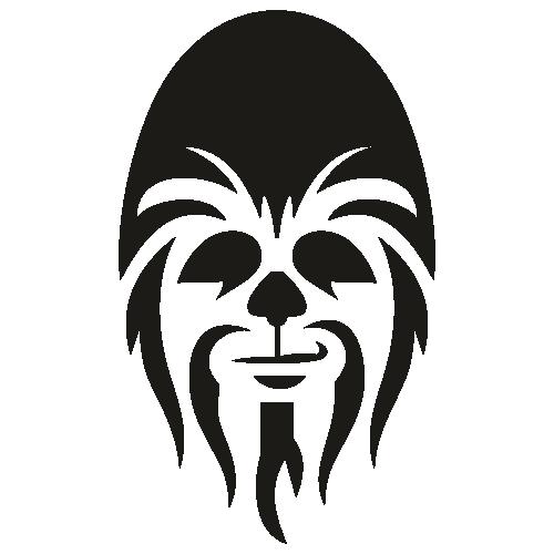 Chewie Wookie SVG